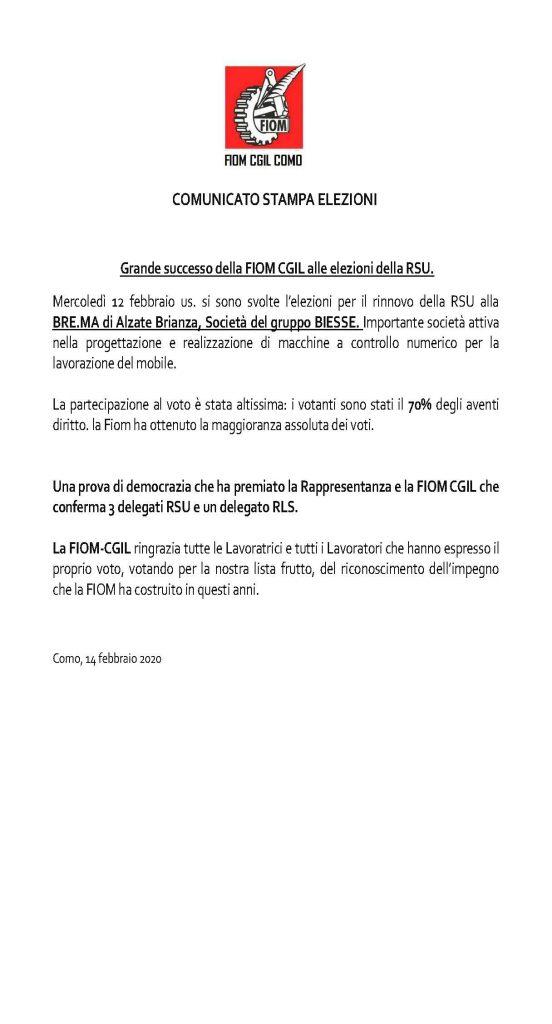 Flc, comunicato unitario sull'emergenza Coronavirus   CGIL Lecco